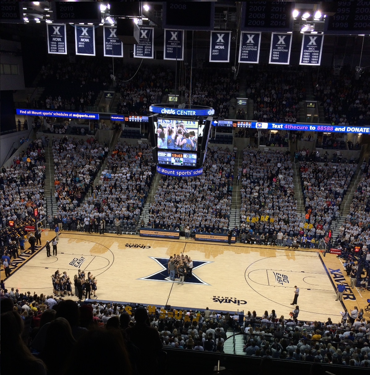 Xavier hosts Lauren Hill's first collegiate game