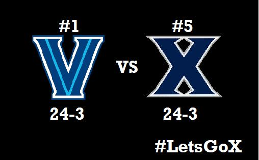 #1 Nova at #5 Xavier - History will be Made!