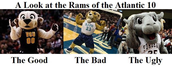 The Rams of the A10: 1st up - The Ugly