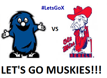 Muskies vs Ole Miss - HERE WE GO!