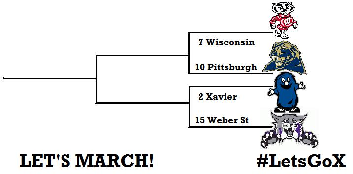 Xavier lands highest seed ever; Let's March!